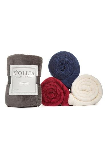 Mollia Soft Touch Diz Üstü Battaniye Antrasit